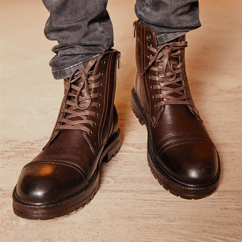 62261 Celal Gültekin Mens Boots Brown