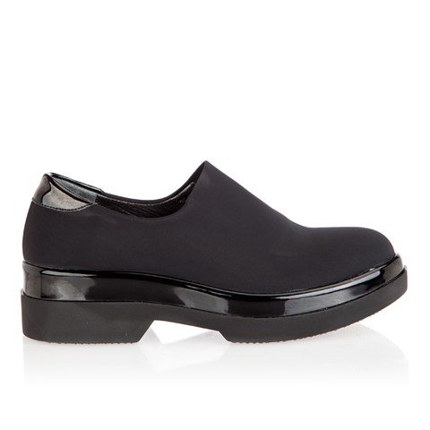 2416 Celal Gültekin Womens Shoes Black Stretch