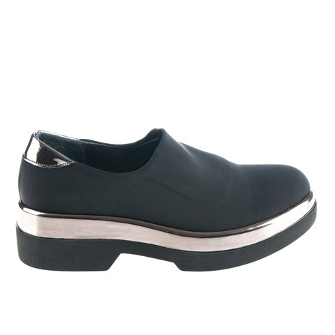 2416 Celal Gültekin Womens Shoes Black-Lame